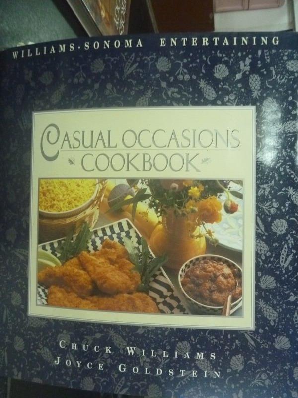 ~書寶 書T2/餐飲_QJL~Casual Occasions Cookbook_Joyc