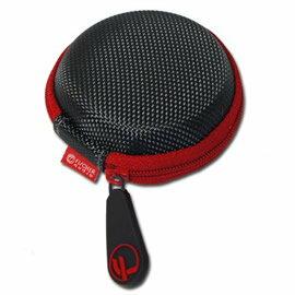 志達電子 BN100-RD 耳機收納包 適用 市面上耳道式 及 耳塞式 EP630 NE700X SONY 鐵三角 DENON sennheiser akg