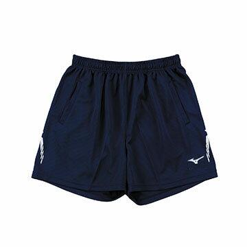 V2TB7A0814(深丈青)高透氣吸汗快乾 男短版排球褲 【美津濃MIZUNO】