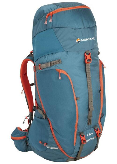 【鄉野情戶外用品店】 Montane  英國  Grand Tour 壯遊背包/登山背包 重裝背包 自助旅行背包-藍/PGT70 【容量70L】