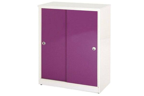 【石川家居】870-04(紫白色)拉門鞋櫃(CT-312)#訂製預購款式#環保塑鋼P無毒防霉易清潔