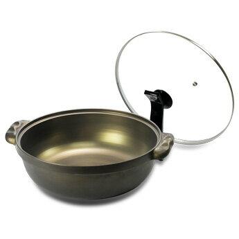 【御膳坊】黃金鑄造湯鍋(附鍋蓋)30CM