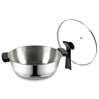 【御膳坊】白金深饕鍋28cm(附直立式鍋蓋)