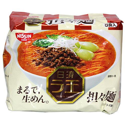 日清麵王5食包麵擔擔麵485G【愛買】