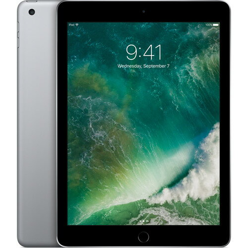 "Apple 9.7"" iPad (2017, 32GB, Wi-Fi Only, Space Gray) 0"