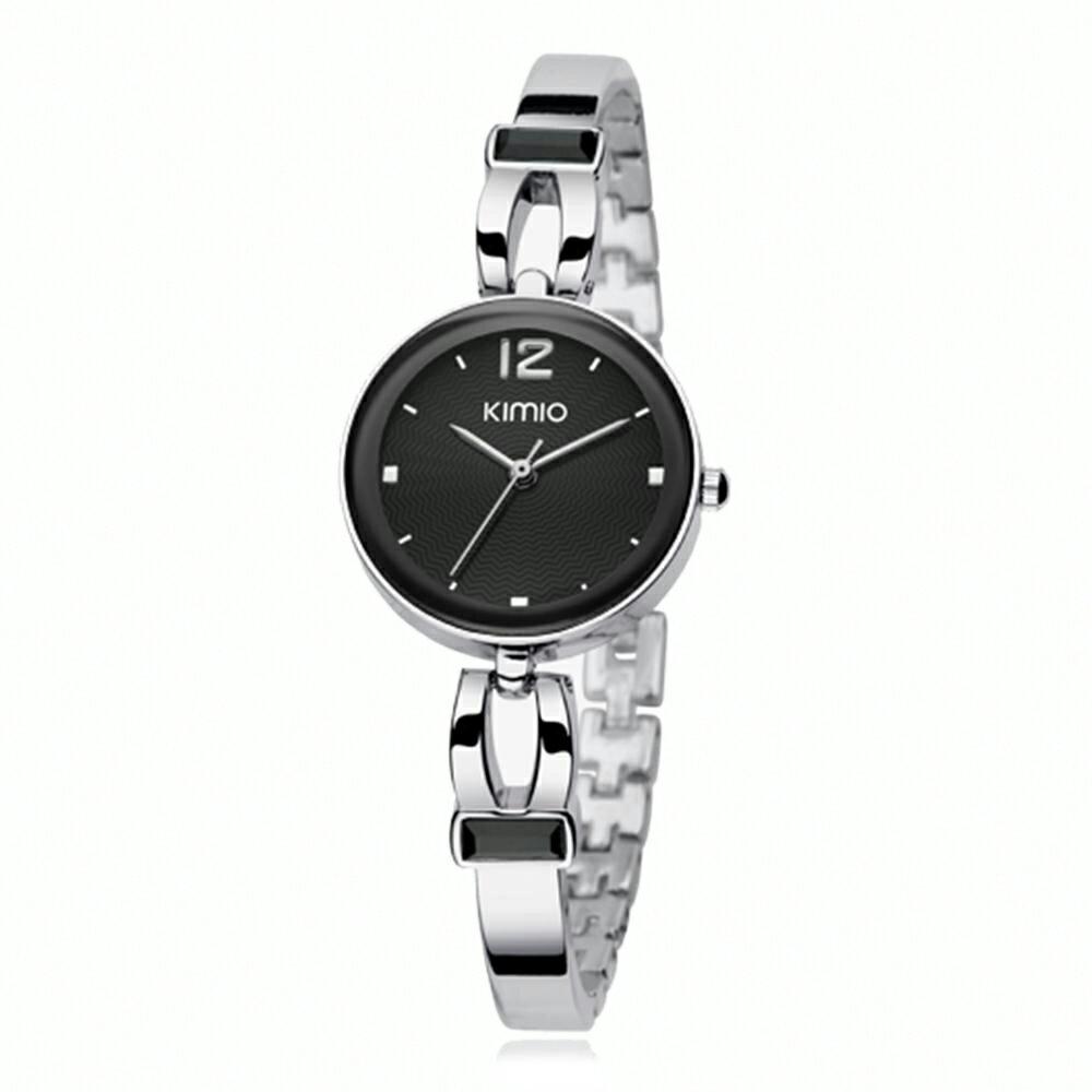 KIMIO 金米歐 K-466 簡約時尚氣質百搭圓款手鍊女錶 1