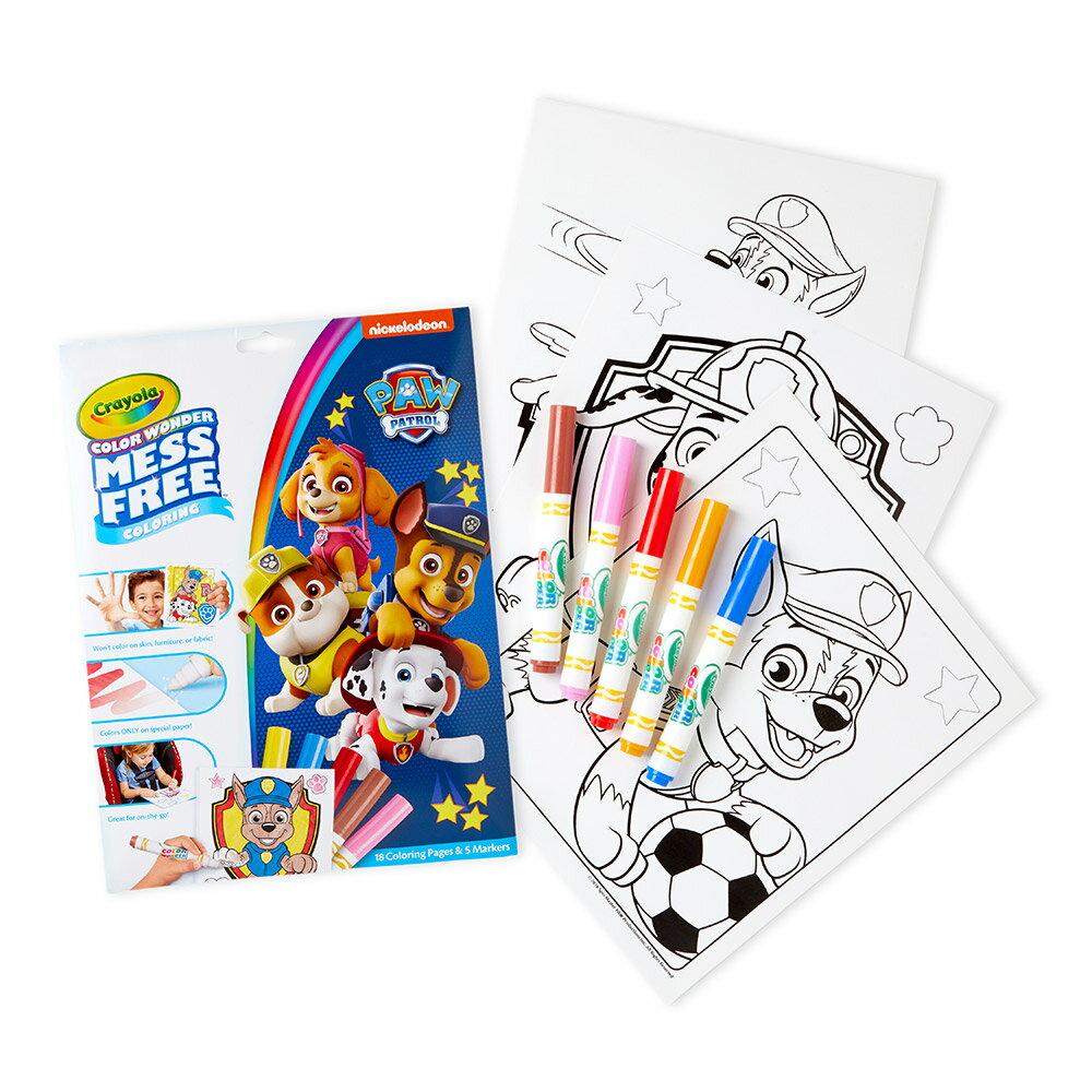 Crayola 神彩著色套裝 - 汪汪隊立大功(紙盒) 1