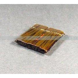 【紮線-金線-8cm-5包/組】8cm金色紮線 麵包 餅乾 曲奇包裝袋用 烘焙工具(長8cm)50根/包,5包/組-8001003