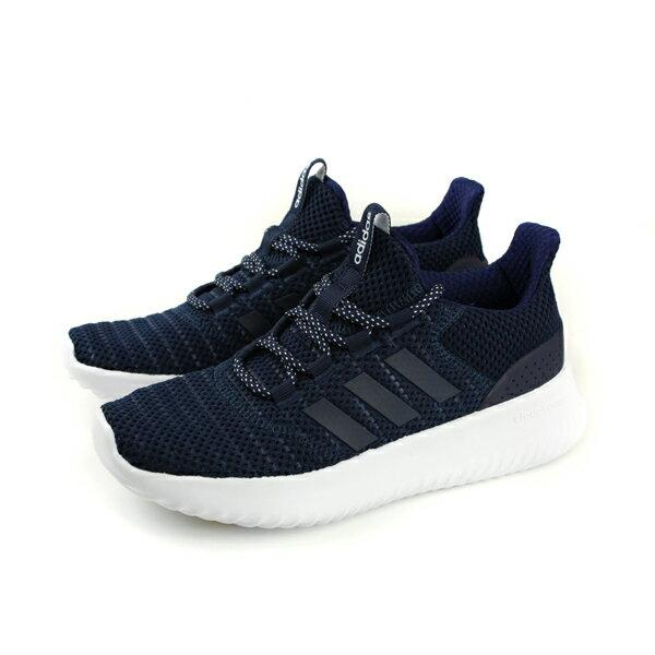 adidasCLOUDFOAMULTIMATE運動鞋慢跑鞋網布深藍色女鞋DB0606no550
