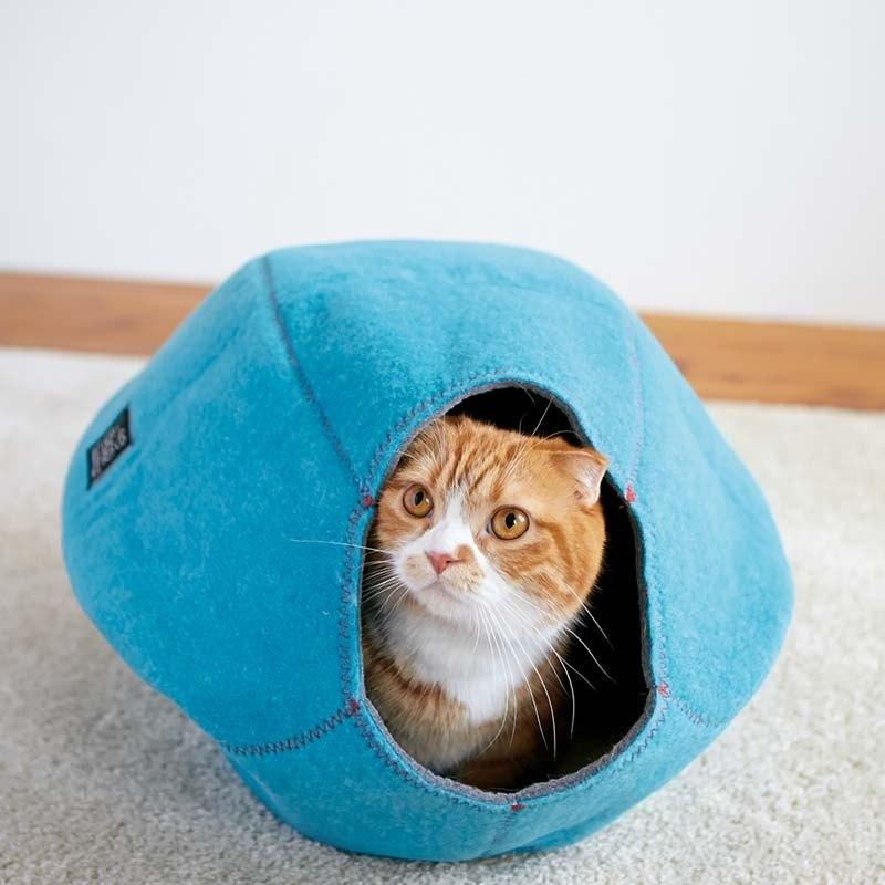 《Lifeapp》 寵愛貓窩 (海軍藍)約W39xD47xH26cm