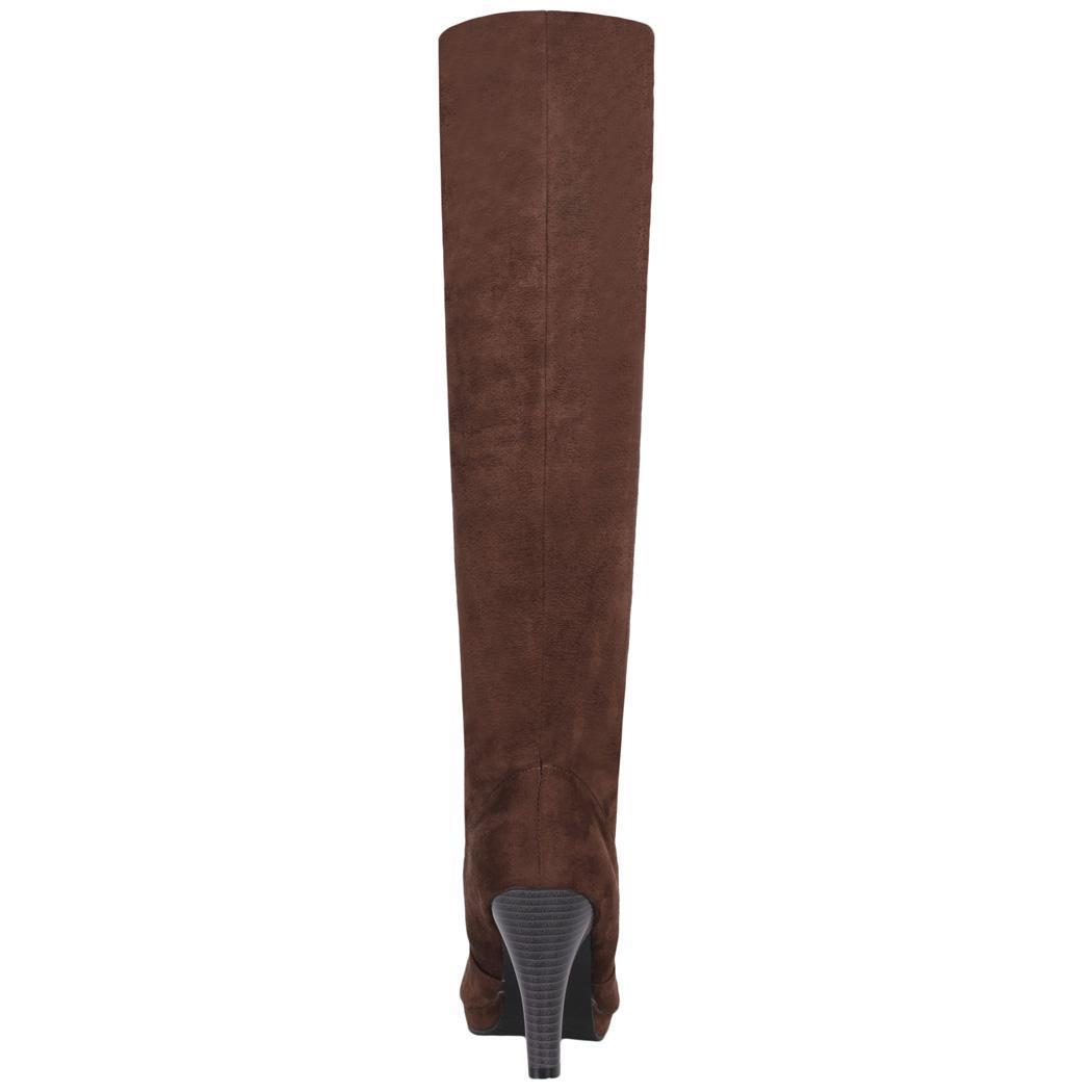 Women Over Knee Thigh High Stiletto Heel Platform Stretch Boot Size 36-39 3