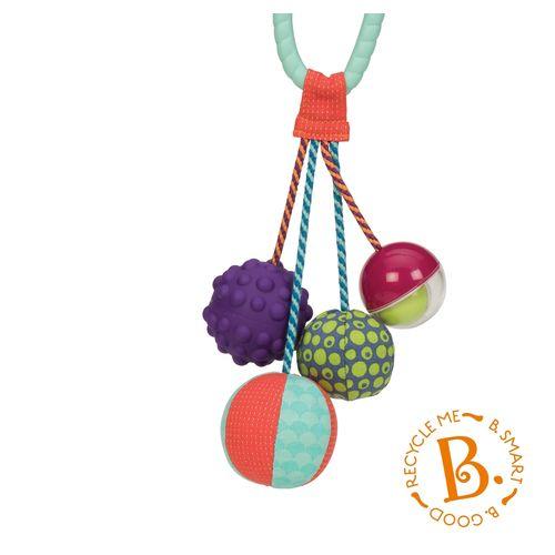 美國【B.Toys】感統玩具-湯圓舞索球★衛立兒生活館★