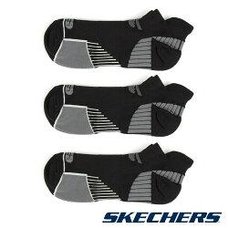 SKECHERS 男款運動短襪 S108373 (3雙1包) / 城市綠洲 (美國品牌、透氣、吸濕排汗、運動休閒)
