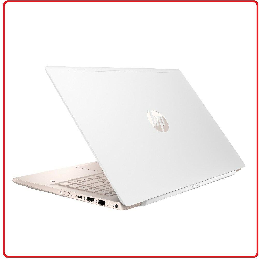 【2018.11 HP 家用筆電】HP 惠普 Pavilion Laptop 14-ce1026TX 5MW29PA 八代四核 陶瓷白+玫瑰金14吋鏡面高亮度窄邊框超廣角筆電 i7-8565U/8G/..