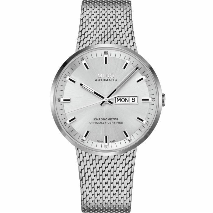 Mido 美度錶 M0316311103100 Commander Icne米蘭簡潔經典腕錶 /42mm