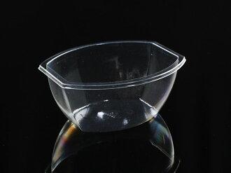 慕斯甜品杯,橢圓杯 B1045(含透明蓋)25pcs