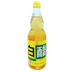 百家珍 特級白醋 600ml