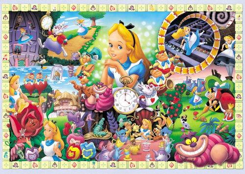 【進口拼圖】迪士尼 DISNEY-愛麗絲夢遊仙境 108片 D-108-966