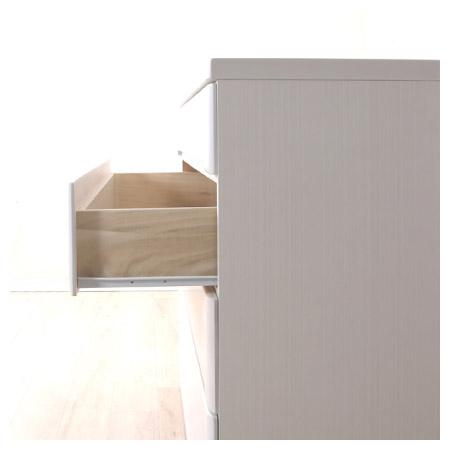 ◎(OUTLET)矮整理衣櫃 斗櫃 OUKA2 120LC WH 福利品 NITORI宜得利家居 9