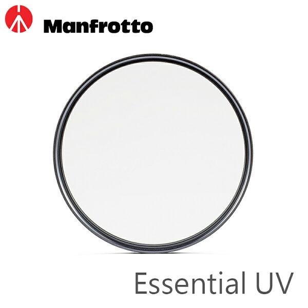 ◎相機專家◎ManfrottoEssentialUV保護鏡72mm防潑水抗反光正成公司貨