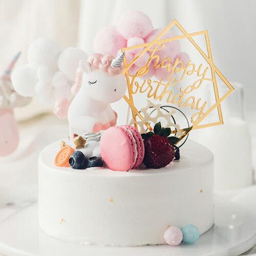 獨角夢樂園  8吋【PATIO帕堤歐】造型蛋糕/生日蛋糕/卡通蛋糕