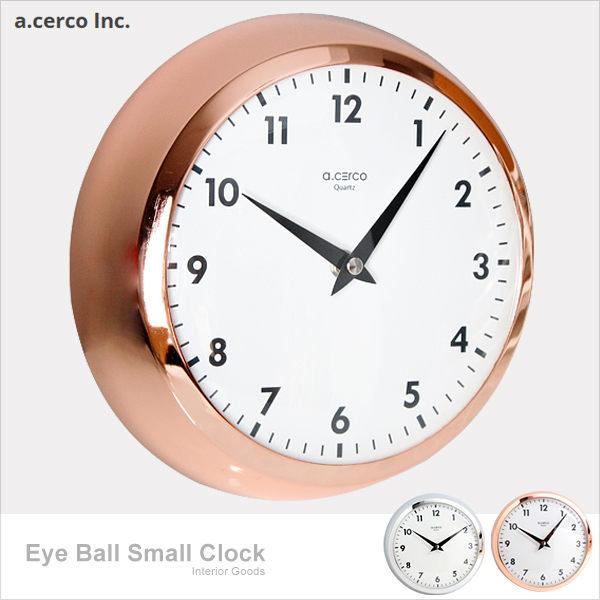 E  J~019008~a.cerco Eye Ball 小鐵鐘 時鐘  鬧鐘  loft