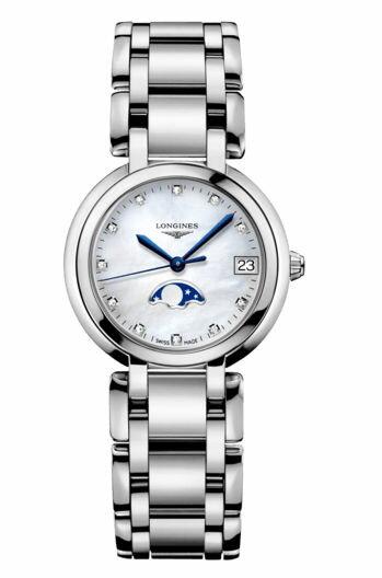 LONGINES 浪琴錶 L81154876 新月系列氣質紳士腕錶/貝面30*50mm