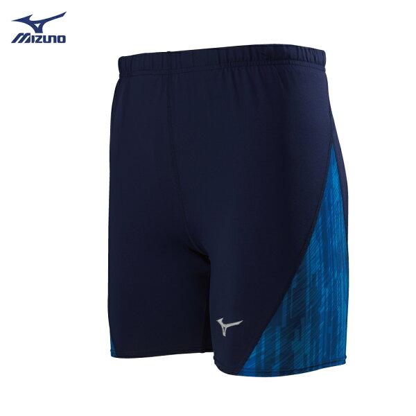 U2TB8G0114(深丈青)男短型緊身褲【美津濃MIZUNO】