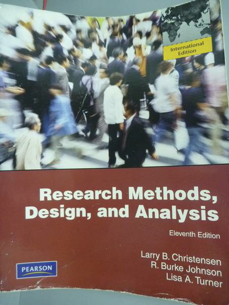~書寶 書T1/大學商學_QEH~Research Methods Design and