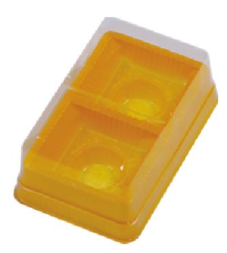 [內格零售] 2入蛋黃酥 (蓋式)寬版 / 50個