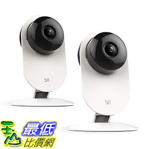 [7美國直購] 攝像機 YI Home Camera, Security Camera Wireless IP Surveillance Camera Night Vision Activity