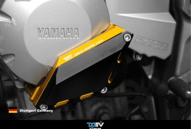 T.M.P 德國DIMOTIV YAMAHA FZ6N/S/FAZER 07-14 XJ6N/S/F 09-14 左側引擎防摔塊 DMV 金 黑 鈦色 改裝