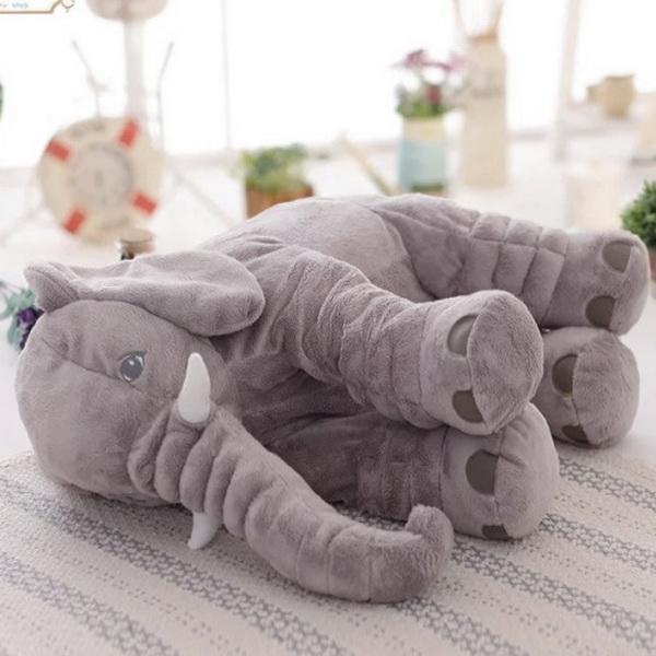 Plush Baby Soft Elephant Sleep Pillow Large Stuffed Animal Doll Kids Toys 5