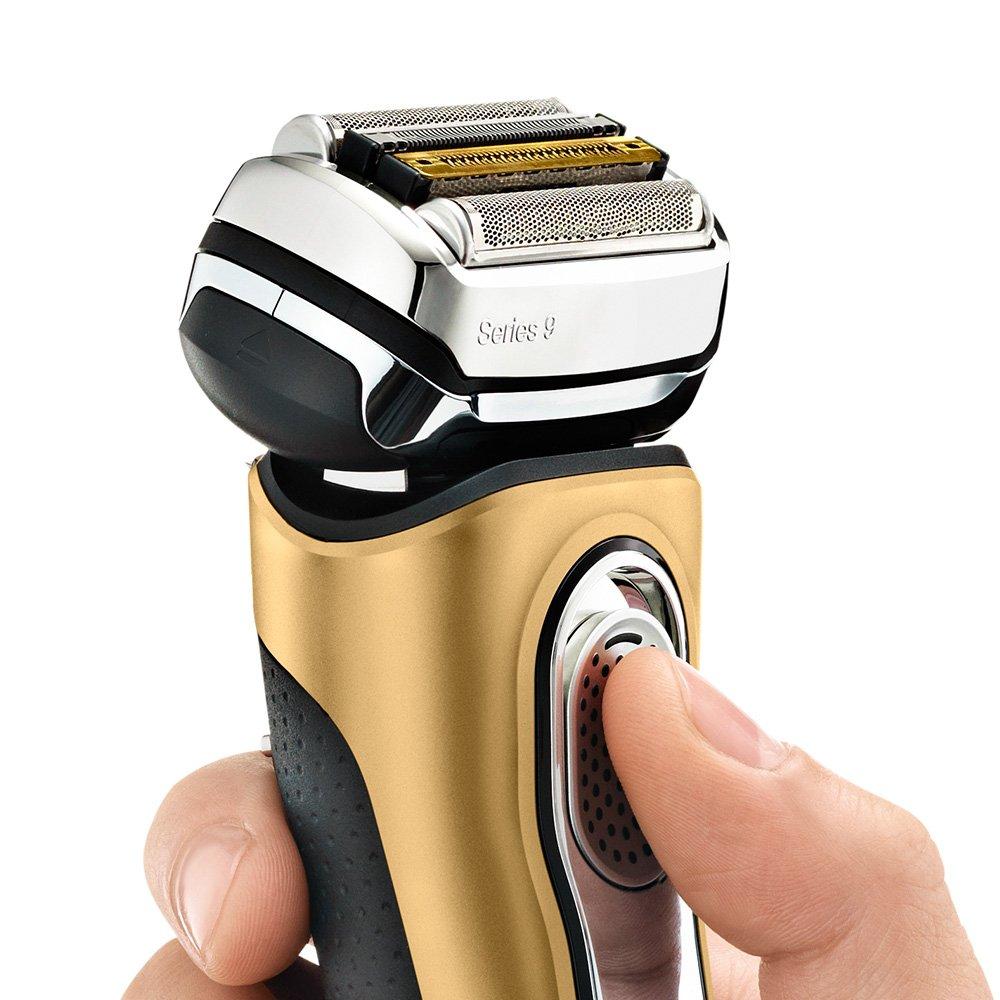 現貨 平行輸入 德國製 百靈 BRAUN【9299S】刮鬍刀 金色特別版 乾濕兩用 充電插座 旅行盒 3