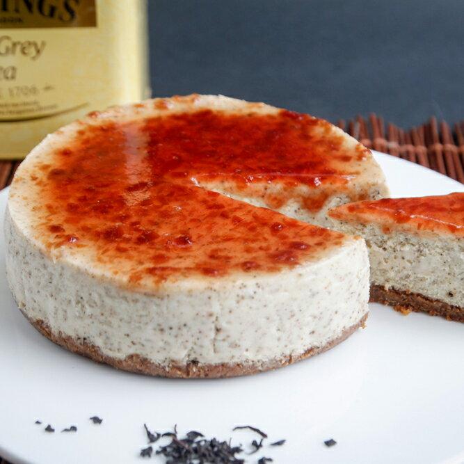 【透明烤箱】玫瑰紅茶重乳酪蛋糕(6吋) 蛋糕 乳酪蛋糕 甜點 下午茶 點心