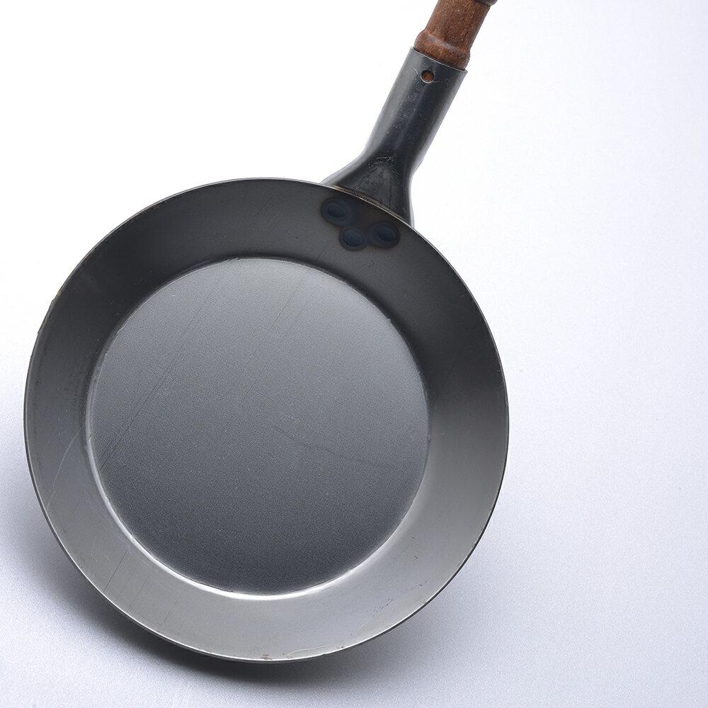 【德國Turk】Turk 土克鍋 冷鍛 木柄 單柄 鐵鍋 20cm 65020 德國製 3