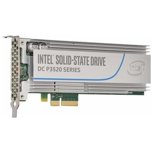 Intel SSD DC P3520 Series 1.2TB 1.20TB AIC HH Half Height PCIe Gen3 x4 PCI-Express 3.0 x4 3D1 MLC Internal Solid State Drive SSDPEDMX012T701