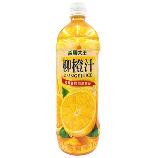 維他露 蔬果大王 柳橙汁 980ml【康鄰超市】
