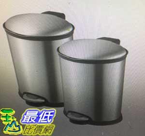 [COSCO代購 如果沒搶到鄭重道歉] EKO 8L不鏽鋼垃圾桶 W709890