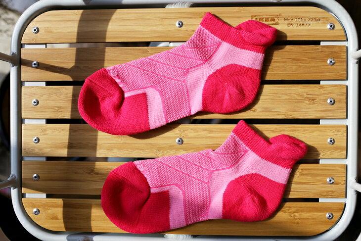 健康壓力除臭襪 ~ 足立康氣墊厚底 ~ 銀離子 Ag^~奈米銀纖維 ~ 20~25 cm