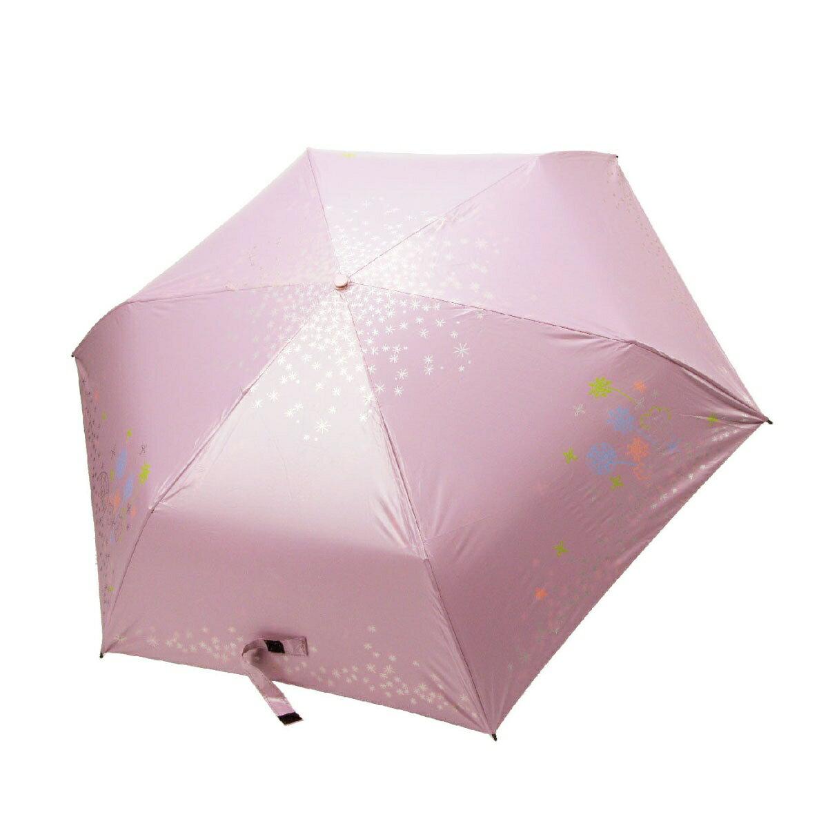 【iumbrella】棉花糖樂園紫外線變色自動傘-淡粉紅