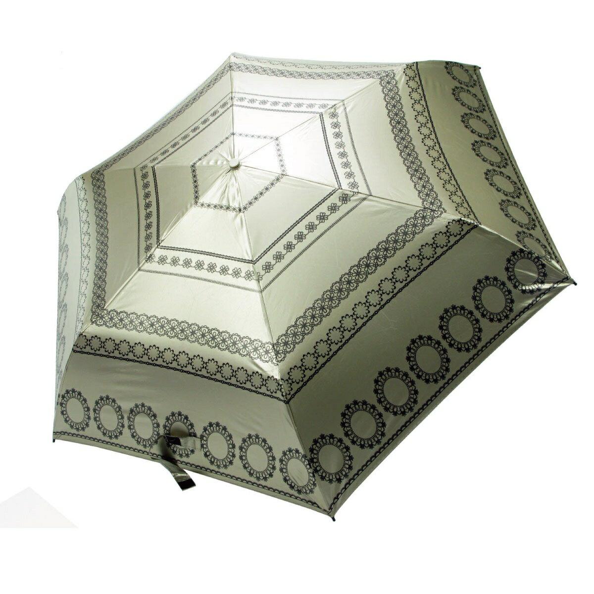 【iumbrella】典藏歐風手開紫外線變色傘-高雅金
