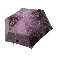 防曬大作戰!防曬乳/防曬外套/防曬小物推薦【iumbrella】幸福花園自動三收一紫外線變色傘-紫