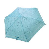 下雨天推薦雨靴/雨傘/雨衣推薦【iumbrella】晴雨兩用傘雨傘 折傘 圓點小彎勾-淺藍