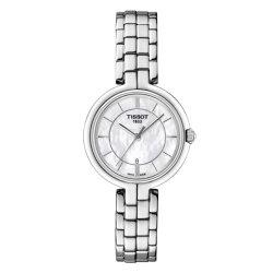 TISSOT天梭表 T0942101111100 FLAMINGO時尚女仕時尚腕錶/珍珠母貝面26mm