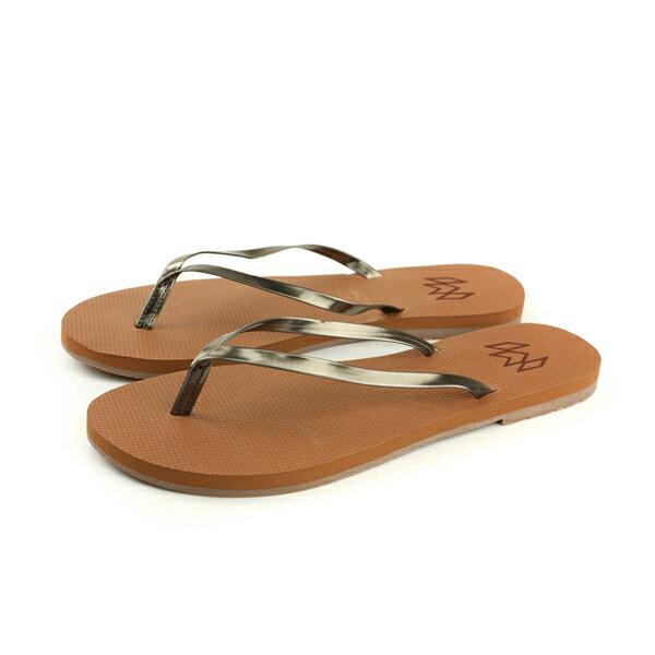 MALVADOSLUX萊絲系列夾腳拖人字拖拖鞋雨天紅棕色女鞋2001-1224no010