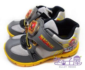 【巷子屋】海賊戰隊 男童電燈輕量運動休閒鞋 [33229] 銀 MIT台灣製造 超值價$198