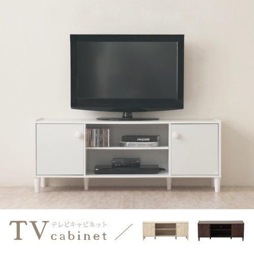 生活大發現-H-和風原木系二門電視櫃(時尚白)電視/收納/櫃子/台灣製造
