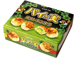 有樂町進口食品 日本進口 [LOTTE]千層派盒裝-巧克力/抹茶超值組 69g*2 4903333156511
