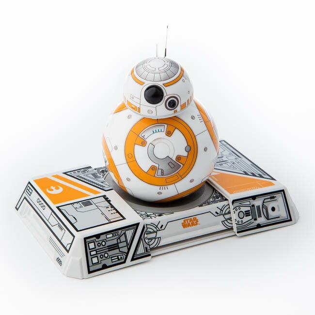107/4/22前優惠價(附訓練底座) Sphero BB-8 STARWARS 星際大戰智能機器人/藍芽連結 手機or平板控制 感應充電